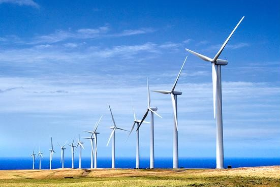 Hawaii wind turbines