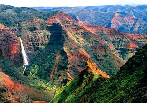 Waimea canyon the grand canyon of the pacific only in for Pacific grand