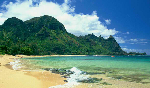 Tunnels Beach In Kauai Hawaii