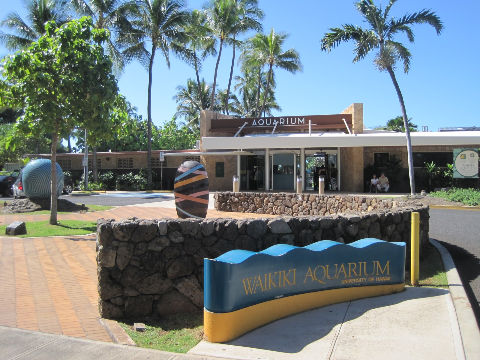 Waikiki Aquarium - Honolulu, Hawaii