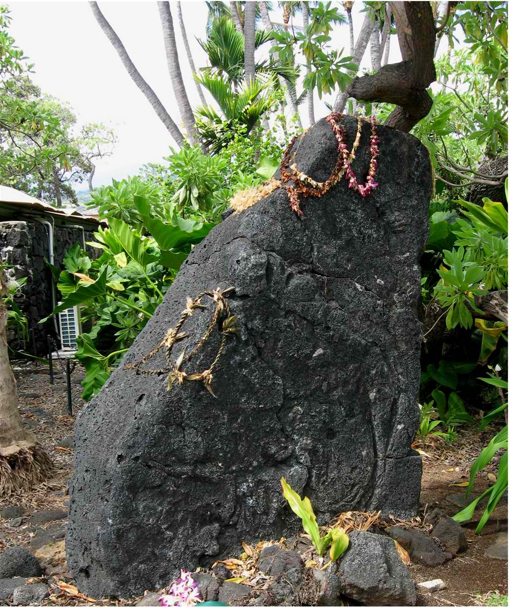 Ku'ula Stone - Kahaluu bay
