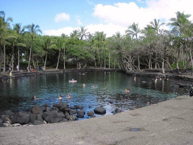 Ahalanui Hot Pond - Big Island