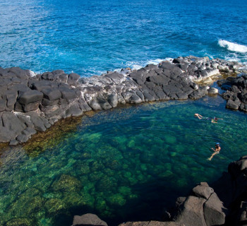 Queen's Bath in Kauai, Hawaii