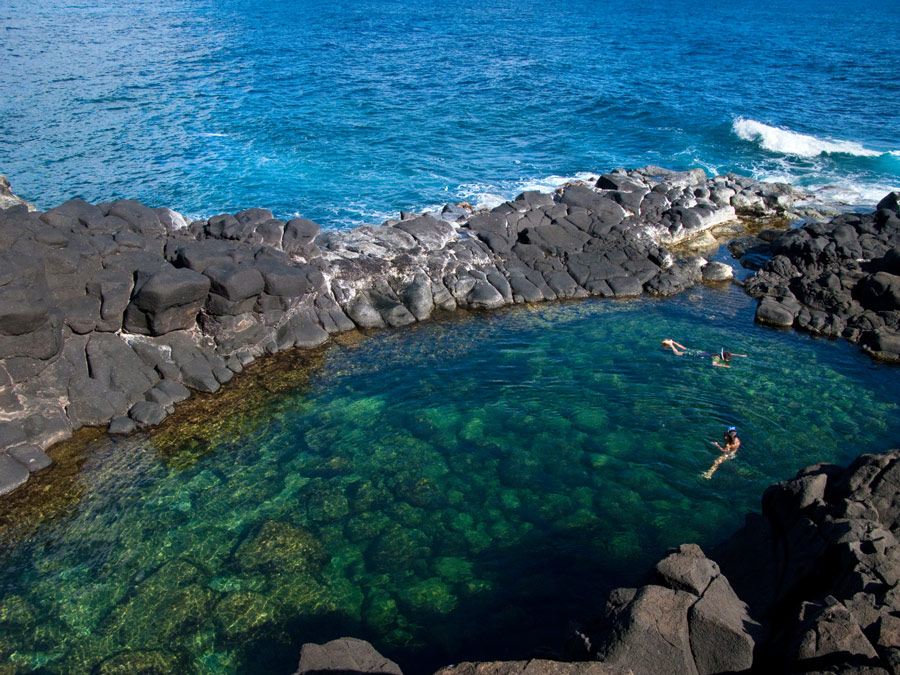 Queen's Bath in Kauai, Hawaii