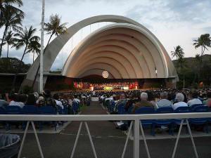 Waikiki Shell at the Kapiolani Park