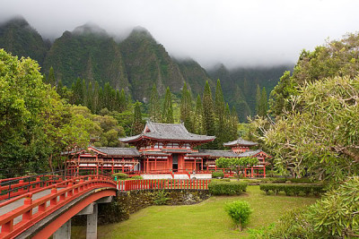 Byodo-In Temple - Oahu, Hawaii