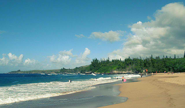 DT Flemming Beach Park - One of the Most Beautiful Beaches of Maui, Hawaii