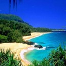 Lumahai Beach in Kauai, Hawaii