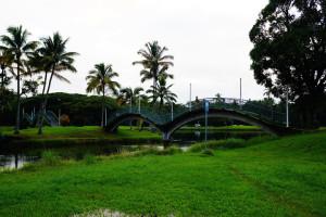 Wailoa River State Park in Hilo, Hawaii