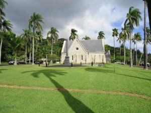 Royal Mausoleum Of Hawaii - Lawn