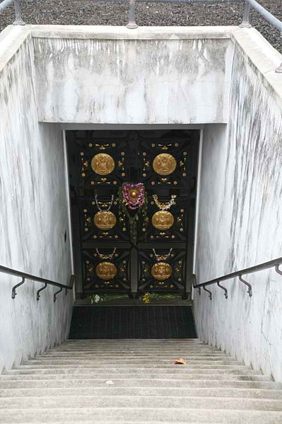 Royal Mausoleum Of Hawaii - Stairs to Kalakaua Crypt