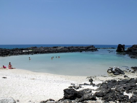 Kikaua Point Beach - Big Island, Hawaii