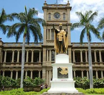 King Kamehameha the Great Statue - Hawaii