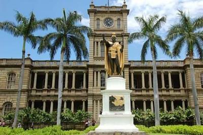 King Kamehameha the Great Statue - Hawaii