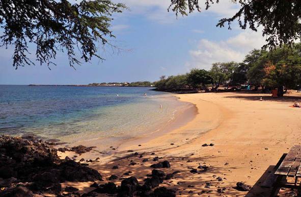 Spencer Beach Park, Kohala, Hawaii