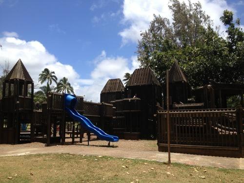 Lydgate Beach Park - Kamalani Playground