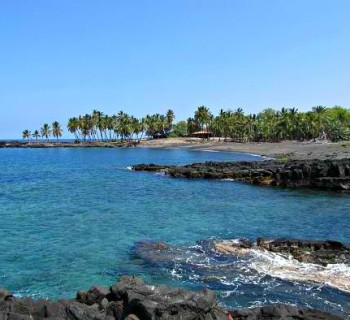 Honomalino Bay - Big Island, Hawaii