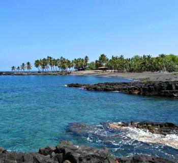 Honomalino Bay - Big Island, Hawaii