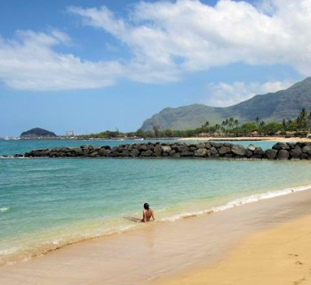 Pokai Bay Beach - Oahu, Hawaii