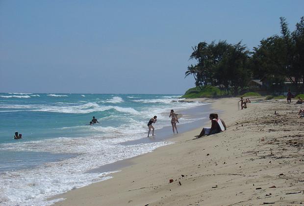 White Plains Beach - Oahu, Hawaii