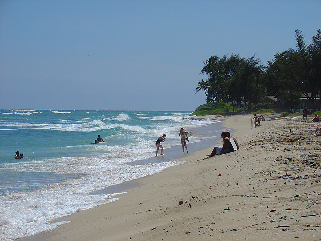 White Plains Beach - Oahu, Hawaii