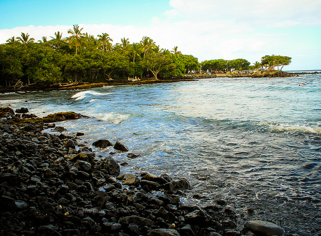 Issac Hale Beach Park - Puna, Hawaii