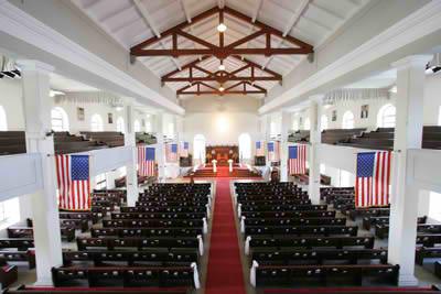 Interior of Kawaiaha'o Church