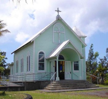 Star of the Sea Painted Church - Kaimu, Hawaii