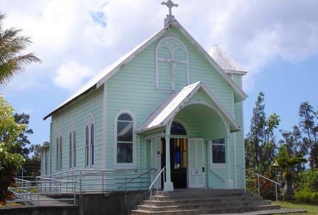 Star of the Sea Painted Church - Kaimu, Hawaii