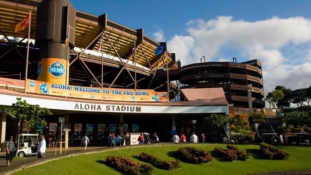 Aloha Stadium - Honolulu, Oahu, Hawaii