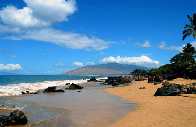 Charley Young Beach - Kihei, Maui, Hawaii