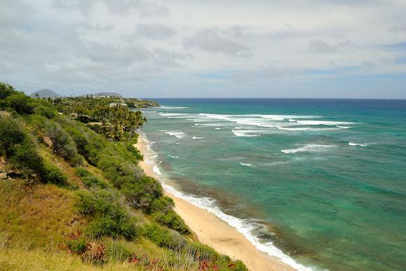 Diamond Head Beach Park - Oahu, Hawaii