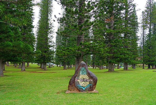 Dole Park Lanai Hawaii