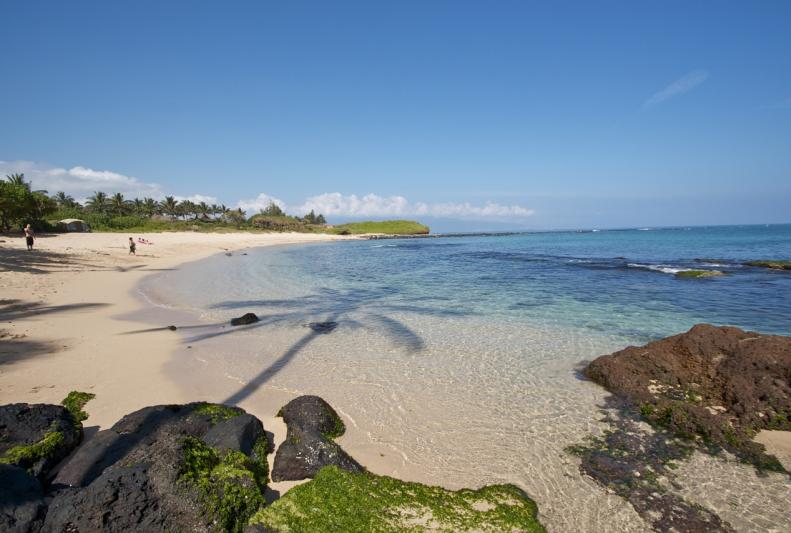 Tavares Beach Near Paia In Maui Hawaii
