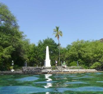 Kealakekua Bay - Captain Cook Monument