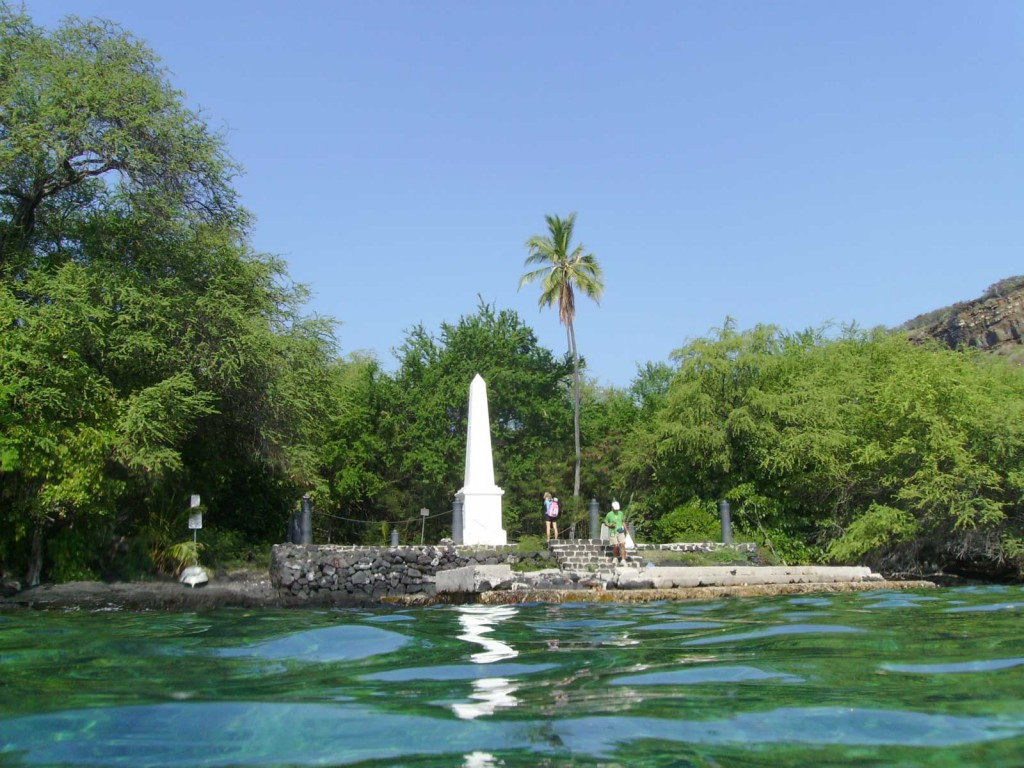 Captain Cook Monument Hawaii Big Island