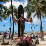 Kuhio Beach Park - Duke Kahanamoku Statue