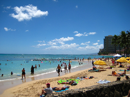 Kuhio Beach Park - Waikiki, Hawaii