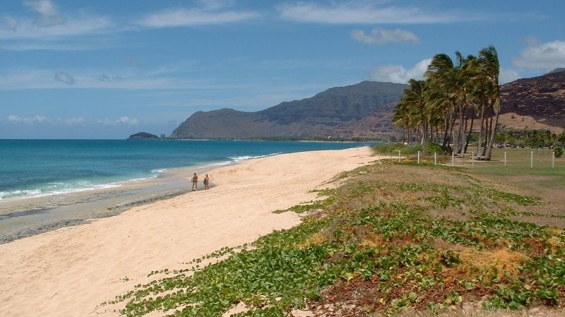 Maili Beach Park - Hawaii