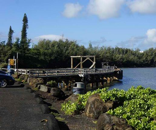 Ahukini State Recreational Pier - Kauai, Hawaii