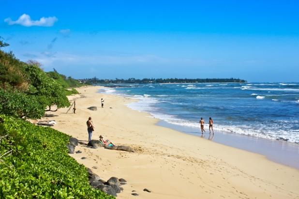 Nukolii Beach Park - Kauai, Hawaii