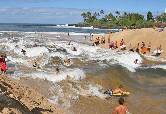 Waimea River - River Surfing