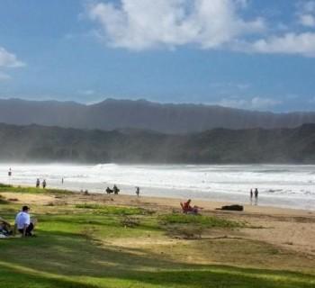 Waioli Beach Park - Hanelei Bay, Hawaii
