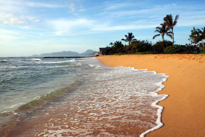 Waipouli Beach - Kauai, Hawaii