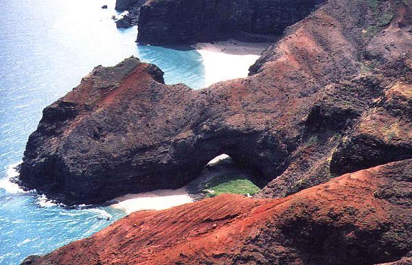 Honopu Beach - Honopu Arch