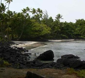 Shipman Beach - Big Island, Hawaii