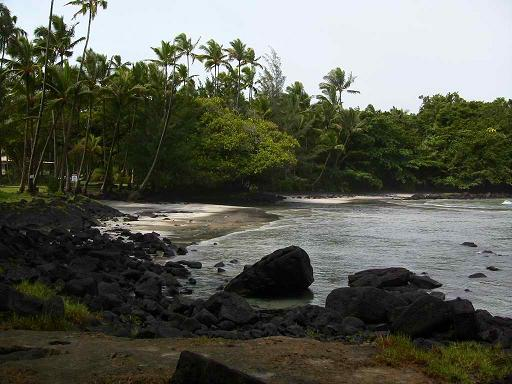 Shipman Beach - Big Island, Hawaii