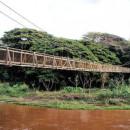 Waimea Swinging Bridge - Kauai, Hawaii