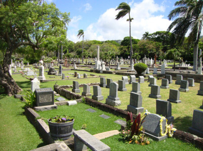 Oahu Cemetery - Honolulu, Hawaii