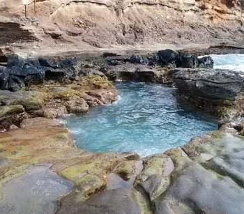 Toilet Bowl Swimming Hole - Hanauma Bay, Hawaii